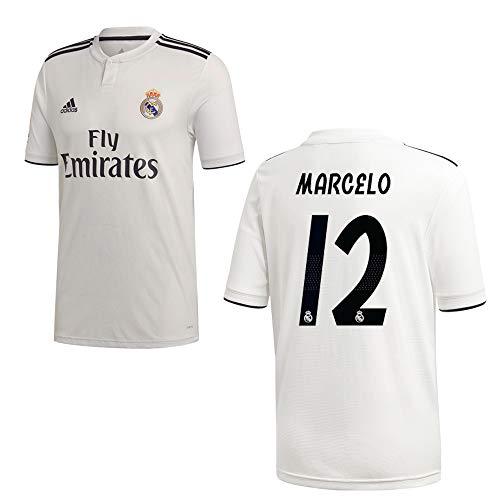 adidas REAL Madrid Trikot Home Herren 2019 - Marcelo 12, Größe:XL