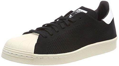 adidas Superstar 80S PK, Scarpe da Ginnastica Basse Uomo, Nero (Core Black/Core Black/Footwear White 0), 39 1/3 EU
