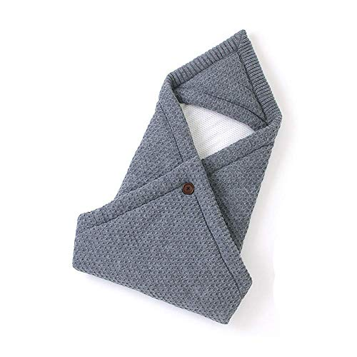 NROCF Winter-Baby Fußsack Für Kinderwagen - Hohe Qualität Neugeborene Schlafsäcke, Baby-Jungen-Mädchen Swaddle Wrap Sleep, 80 * 80 cm,Grau