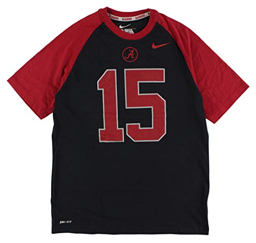 Nike Men's Alabama Crimson Tide Dri Fit New Day T Shirt Black M