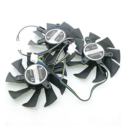 A Set 12V 85mm 4Pin GPU Fan For ZOTAC GTX1070-8GD5 RTX2070 TRX2080-8GD6 RTX2080Ti Graphics Card Cooling Fan