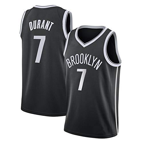 FURUN Camiseta de Baloncesto NBA Brooklyn Nets # 7 Kevin Durant Camiseta de Ventilador Resistente al Desgaste Transpirable