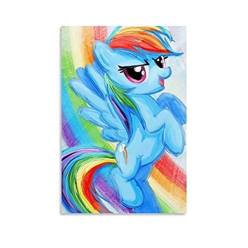 My Little Pony Rainbow Daisy Simple y Elegante Póster Decoración de Fiestas Suministros 40 x 60 cm