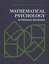 Mathematical psychology;: An elementary introduction (Prentice-Hall series in mathematical psychology)