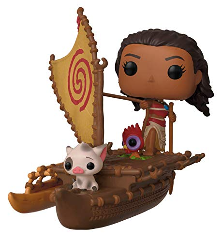Funko Disney Moana with Pua on Boat #62 2019 Summer Convention Limited Edition Exclusive