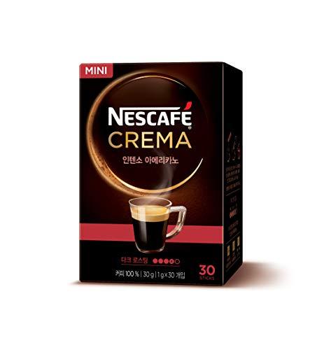NESCAFE Instant coffee - Nescafe Crema 30 packets (Americano, Café Latte, Original Latte, Coconut Latte) (Dark Roast)