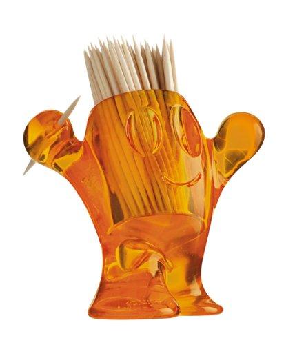 Koziol - 3014-509 - Support à Pics à apéritifs pic nix - Orange