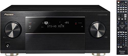 Pioneer SC-1224-K 7.2 Netzwerk AV-Receiver (200 Watt pro Kanal, Class-D-Endstufen, W-Lan und Bluetooth, App Steuerung, Airplay, DLNA, Internetradio, ESS Sabre D/A-Wandler, Gapless Wiedergabe, 3 Zonen, 4K Ultra HD Video Scaler) schwarz