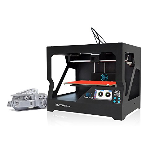 GIANTARM D200 Stampante 3D con un'area di stampa molto grande, recupero automatico da power failure, touch screen e chassis completamente in metallo.