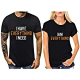 KANGMOON Matching Couple Shirts Married Couples for Husband and Wife Gift Wedding, Anniversary, Newlywed