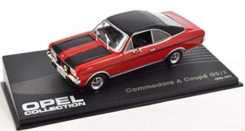 Opel Commodore A Coupe GS/E Fertigmodell in Displayvitrine Maßstab 1:43