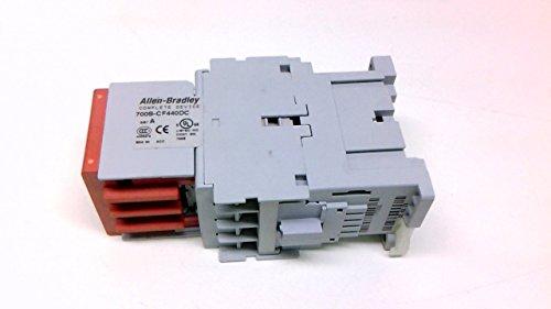 ALLEN BRADLEY 700S-CF440DC Safety Industrial Relay, 3NO/1NC Base, 4 Pole, 120 VAC, 20 AMP
