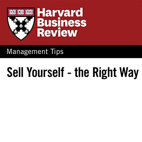 Diseño de la portada del título Sell Yourself — the Right Way