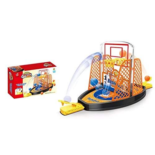 Qiekenao Palec koszykówka strzelanie zabawka dla rodzic-dziecko, interakcja 2 osoby biurko stół koszykówka zestaw do gry zabawa sport nowatorskie zabawki