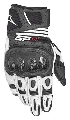 alpinestars guanti Alpinestars - Guanti Moto Sp X Air Carbon V2 Glove Black White - L