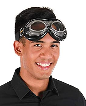 elope Harry Potter Quidditch Costume Goggles for Adults and Kids Black