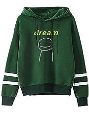 JHDESSLY Dreamwastaken Dream Smile Merch Hoodie Sweatshirt Mannen Vrouwen Casual Pullover Unisex Trainingspak XXS-4XL