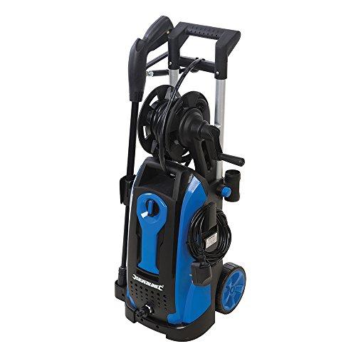 Silverline Tools 943676 Hidrolimpiadora, 165 Bar, 2100 W, Azul