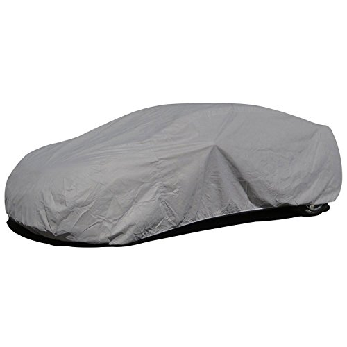 """Budge Lite Station Wagon Cover Indoor, Dustproof, UV Resistant Station Wagon Cover Fits Full Size Station Wagons up to 216"""", Gray"""