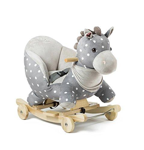 Caballo-mecedora infantil Kinderkraft con ruedas, juguete de