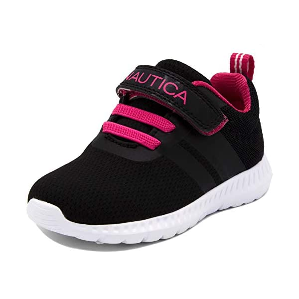 Nautica Kids Fashion Sneaker Athletic Running Shoe with One Strap|Boys-Girls| (Toddler/Little...