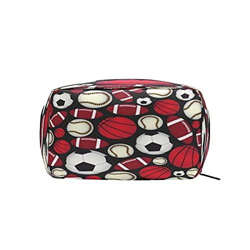 XXNO - Bolsa de maquillaje para guardar cosméticos, bolsa de maquillaje, organizador de artículos de tocador, bolsa de almacenamiento con cremallera, para mujeres y niñas