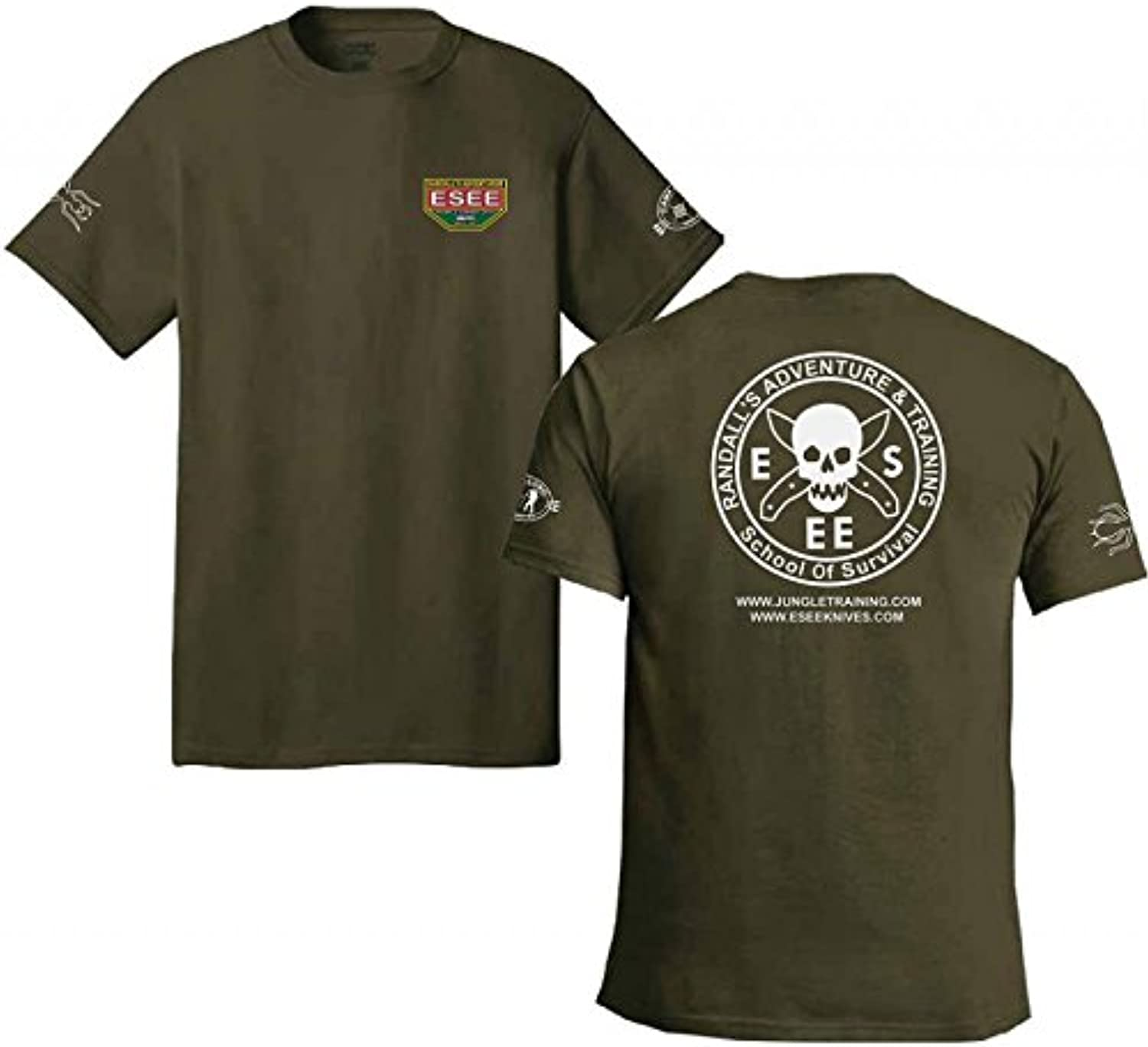 ESEE Training T Shirt XXXL Green