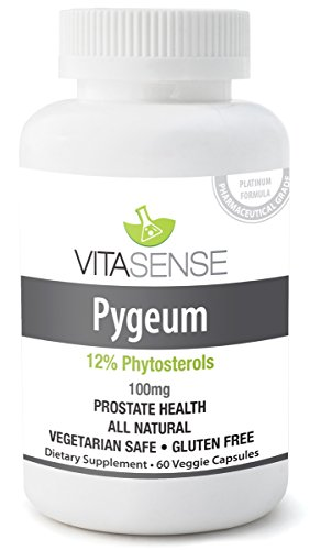 VitaSense Pygeum 100 mg (12% Phytosterols) - Prostate Health - 60 pills