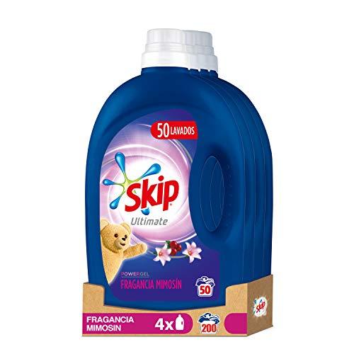 Skip Ultimate Detergente Líquido Fragrancia Mimosín 50 lavados - Pack de 4