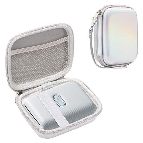 Brappo Hard Travel Case for Fujifilm Instax Mini Link Smartphone Printer (Ash White)