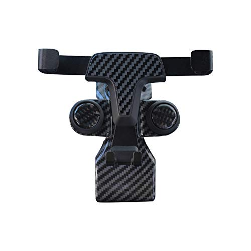 QHCP Soporte para teléfono de coche Soporte GPS Dashboard Salida de ventilación de aire 4-6 pulgadas Teléfonos móviles Soporte para Ford Mustang 2015-2020 (negro)