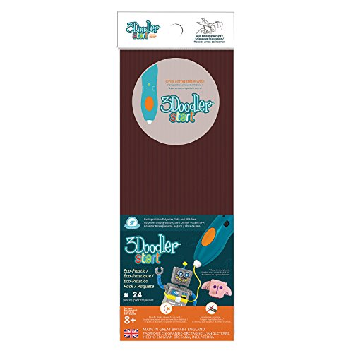3DOODLER 62158 Start Plastic Packs Brown, Multicolored
