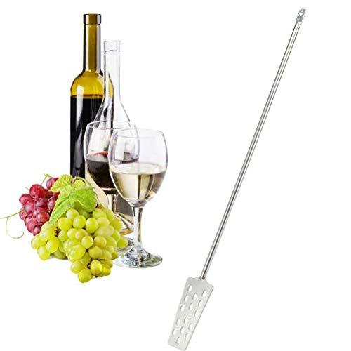 Hihey Edelstahl Wein Rührer Paddel Wein Maische Tun Mischen Rührer Paddel Home Kitchen Bar Werkzeug 62,5 cm