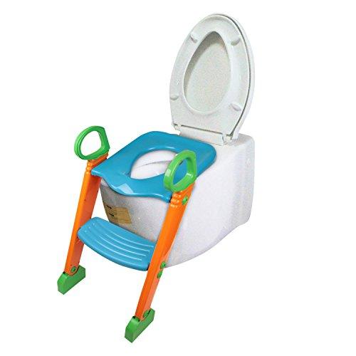 Bright love Siège de Formation pour Enfants avec échelle de Tabouret escabeau pour Chaise de Toilette pour Tout-Petit, Enfant