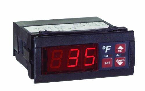 Dwyer Love Series TS Digital Temperature Switch, 110 V, 16 A, °F display