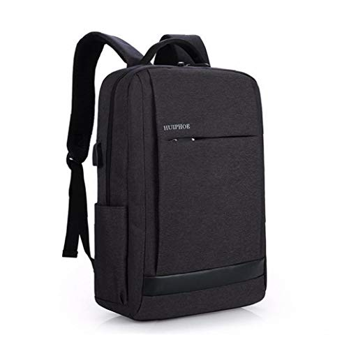 MICHAELA BLAKE Business-Laptop-Rucksack 12-15,6 Zoll-Laptop & Notebook-Rucksack Mit USB-ladeanschluss Water Resistant Schulranzen Für Schule, Beruf, Reise Und Wandern