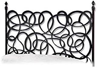 Hogares con Estilo - Cabecero Forjado artesanalmente en España. para Cama de 135 cms Modelo CA5A Color Blanco
