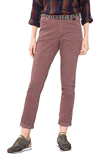 ESPRIT Damen 106EE1B015 Hose, Rosa (Dark Old Pink 675), 34/L32 (Herstellergröße: 34)