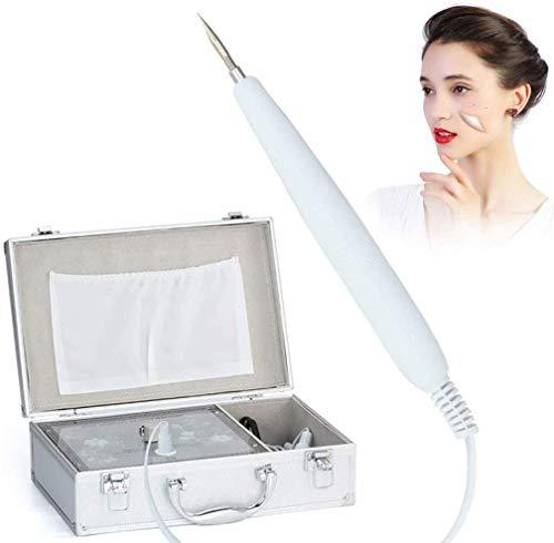 Knoijijuo Marcas en la Piel de eliminación Pluma del removedor del removedor del Topo Kit de eliminación de verrugas y Mole Pluma del removedor de Plasma Oscuro Punto Tatuaje Arrugas faciales