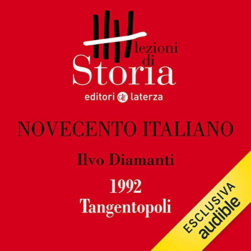 Novecento italiano - 1992. Tangentopoli copertina