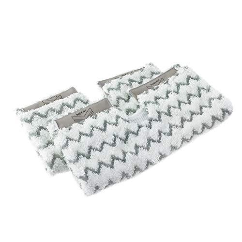 Simuke Lot de 2 Chiffons de Nettoyage carrés pour Balai Vapeur American Shark P3 P5 P8 S6001 S6003