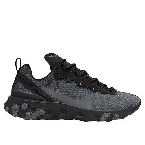 Zapatillas Nike React Element 55 SE Gris/Negro Hombre 43 Gris