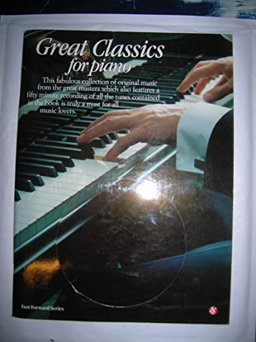 GREAT CLASSICS FOR PIANO (+CD) COLLECTION OF ORIGINAL MUSIC FROM THE