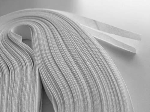 GGM Schrägband, B 20 mm, Weiß, 25m