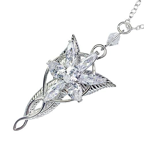 Lotr Arwen EvenstarColgante Collar Hobbit Moda Princesa Collar De Mujer Regalo De Ventilador De Alta Calidad