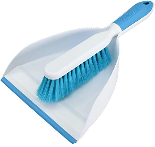 EVERCLEAN Small Hand Broom & Dustpan Set