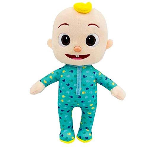Cartoon Stuffed JJ Doll Plush Doll , JJ Plush for Stuffed Doll Bedtime Toy Babiesand Kids Gifts (Baby)