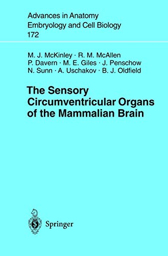 The Sensory Circumventricular Organs of the Mammalian Brain:
