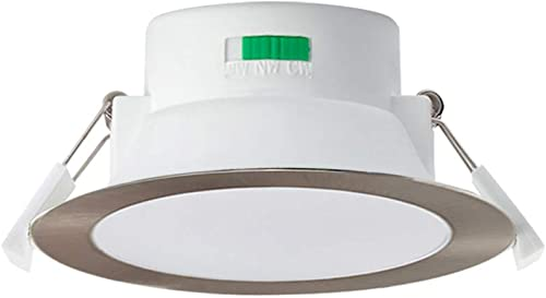 LED Recessed Ceiling Light ALUX 12W CCT Downlight Kit Dimmable IP44 Spotlight, 3 Lighting Colors Adjustable Warm 3000...