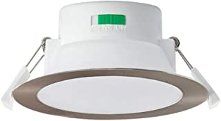 LED Recessed Ceiling Light ALUX 12W CCT Downlight Kit Dimmable IP44 Spotlight, 3 Lighting Colors Adjustable Warm 3000K/ Ne...